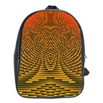 Fractal Pattern School Bags(Large)  Front