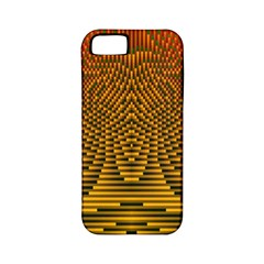 Fractal Pattern Apple Iphone 5 Classic Hardshell Case (pc+silicone)