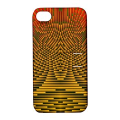 Fractal Pattern Apple Iphone 4/4s Hardshell Case With Stand by BangZart