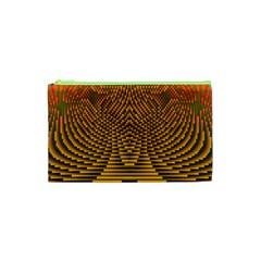 Fractal Pattern Cosmetic Bag (xs)
