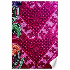 Pink Batik Cloth Fabric Canvas 20  X 30