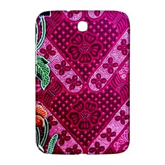 Pink Batik Cloth Fabric Samsung Galaxy Note 8 0 N5100 Hardshell Case  by BangZart