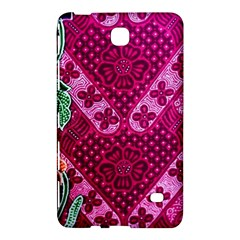 Pink Batik Cloth Fabric Samsung Galaxy Tab 4 (7 ) Hardshell Case