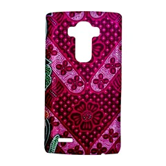 Pink Batik Cloth Fabric Lg G4 Hardshell Case