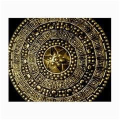 Gold Roman Shield Costume Small Glasses Cloth (2 Side)