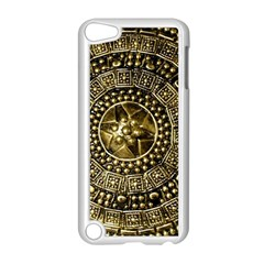 Gold Roman Shield Costume Apple Ipod Touch 5 Case (white)