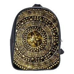 Gold Roman Shield Costume School Bags (xl)