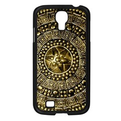 Gold Roman Shield Costume Samsung Galaxy S4 I9500/ I9505 Case (black)