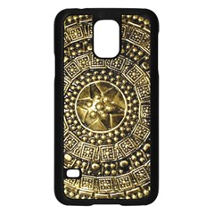 Gold Roman Shield Costume Samsung Galaxy S5 Case (black)