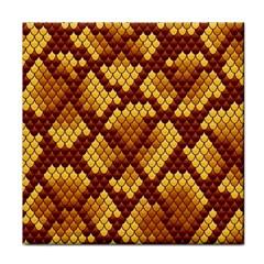 Snake Skin Pattern Vector Tile Coasters