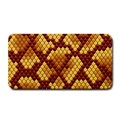 Snake Skin Pattern Vector Medium Bar Mats by BangZart
