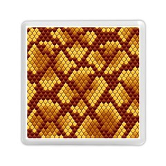 Snake Skin Pattern Vector Memory Card Reader (square)