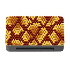 Snake Skin Pattern Vector Memory Card Reader With Cf