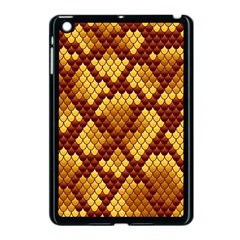 Snake Skin Pattern Vector Apple Ipad Mini Case (black)