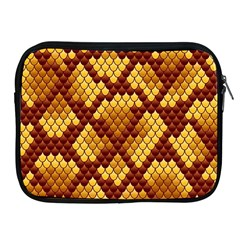 Snake Skin Pattern Vector Apple Ipad 2/3/4 Zipper Cases