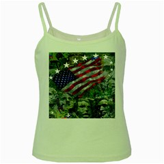 Usa United States Of America Images Independence Day Green Spaghetti Tank