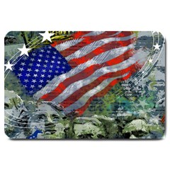 Usa United States Of America Images Independence Day Large Doormat