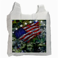 Usa United States Of America Images Independence Day Recycle Bag (two Side)  by BangZart