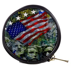 Usa United States Of America Images Independence Day Mini Makeup Bags