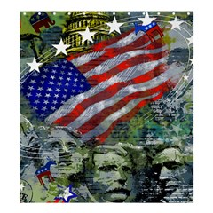 Usa United States Of America Images Independence Day Shower Curtain 66  X 72  (large)