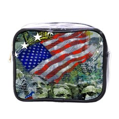 Usa United States Of America Images Independence Day Mini Toiletries Bags
