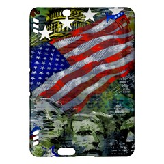 Usa United States Of America Images Independence Day Kindle Fire Hdx Hardshell Case by BangZart