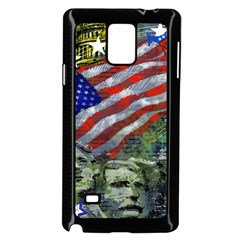 Usa United States Of America Images Independence Day Samsung Galaxy Note 4 Case (black) by BangZart