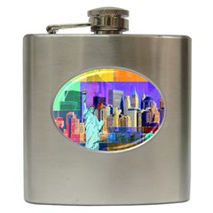 New York City The Statue Of Liberty Hip Flask (6 Oz)