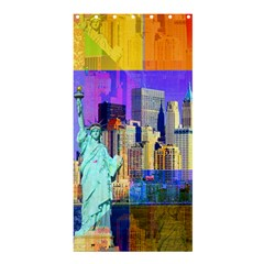New York City The Statue Of Liberty Shower Curtain 36  X 72  (stall)  by BangZart
