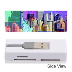 New York City The Statue Of Liberty Memory Card Reader (stick)