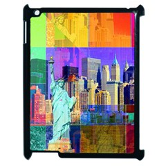 New York City The Statue Of Liberty Apple Ipad 2 Case (black)