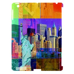 New York City The Statue Of Liberty Apple Ipad 3/4 Hardshell Case (compatible With Smart Cover)
