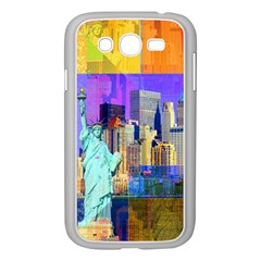New York City The Statue Of Liberty Samsung Galaxy Grand Duos I9082 Case (white)