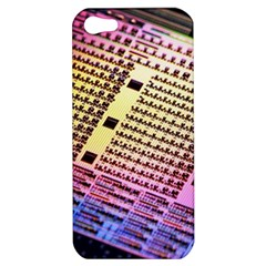 Optics Electronics Machine Technology Circuit Electronic Computer Technics Detail Psychedelic Abstra Apple Iphone 5 Hardshell Case