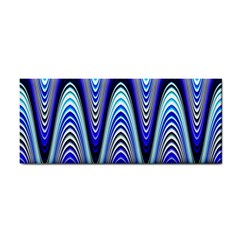 Waves Blue Cosmetic Storage Cases by Colorfulart23