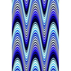 Waves Blue 5 5  X 8 5  Notebooks by Colorfulart23