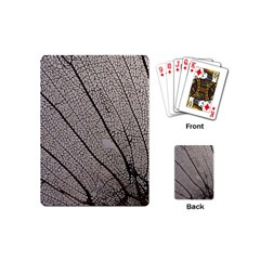 Sea Fan Coral Intricate Patterns Playing Cards (mini)