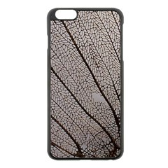Sea Fan Coral Intricate Patterns Apple Iphone 6 Plus/6s Plus Black Enamel Case by BangZart