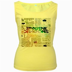 Imagine Dragons Quotes Women s Yellow Tank Top by BangZart