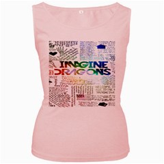 Imagine Dragons Quotes Women s Pink Tank Top by BangZart