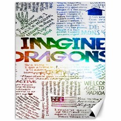 Imagine Dragons Quotes Canvas 12  X 16
