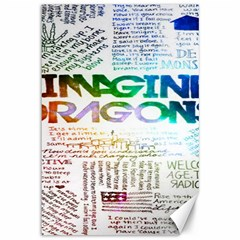 Imagine Dragons Quotes Canvas 12  X 18
