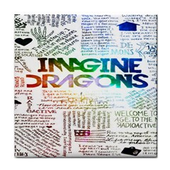Imagine Dragons Quotes Face Towel