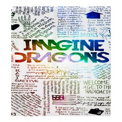 Imagine Dragons Quotes Shower Curtain 66  X 72  (large)  by BangZart