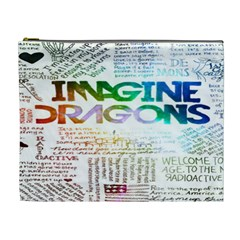 Imagine Dragons Quotes Cosmetic Bag (xl) by BangZart