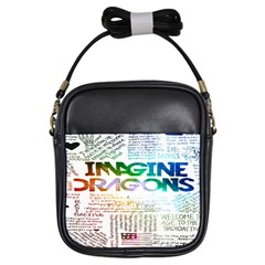 Imagine Dragons Quotes Girls Sling Bags by BangZart