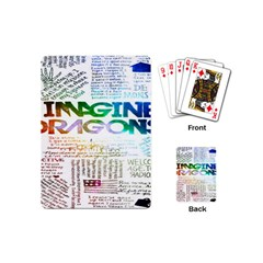 Imagine Dragons Quotes Playing Cards (mini)  by BangZart