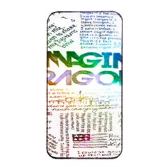 Imagine Dragons Quotes Apple Iphone 4/4s Seamless Case (black)