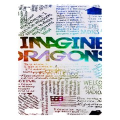 Imagine Dragons Quotes Apple Ipad 3/4 Hardshell Case by BangZart