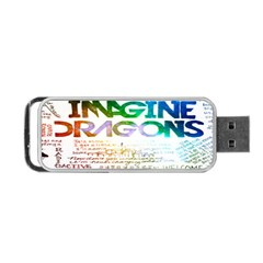 Imagine Dragons Quotes Portable Usb Flash (two Sides)